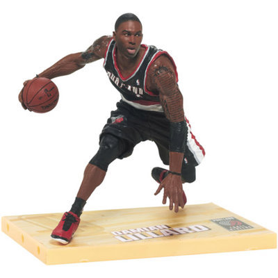 MCFARLANE TOYS McFarlane Toys Damian Lillard Portland Trail Blazers NBA Action Figure