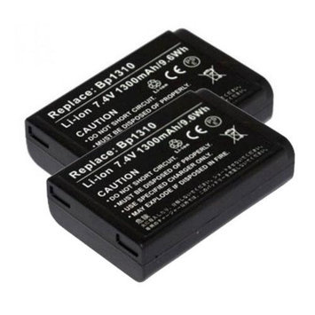 Battery for Samsung BP-1310 (2-Pack) Replacement Battery