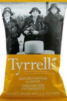 Tyrrell's Tyrrells Potato Chips 5.3oz Pack of 12