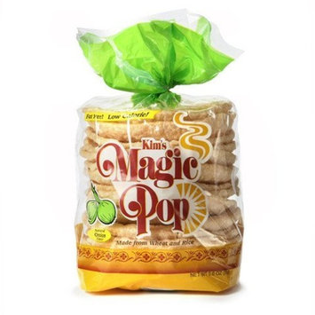 Kim's Magic Pop Onion Flavor 12-Pack: Freshly Popped Rice Cakes, Healthy Grain Snack, 0 Weight Watchers Point