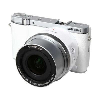 Samsung NX3000 20.3MP Smart Digital Camera w/ 16-50mm Zoom Lens & Flash (White)