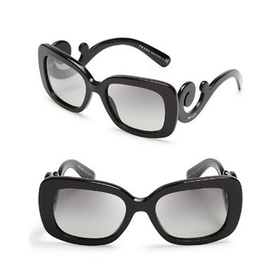 Prada Rectangle Baroque Sunglasses