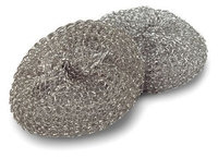 Libman 63 Steel Scrubbers - Set of 2 per Package