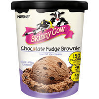 Skinny Cow Fudge Brownie Chocolate Low Fat Ice Cream