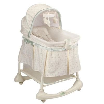 Kolcraft Cuddle N' Care 2-In-1 Bassinet and Incline Sleeper, Emerson, 1 ea
