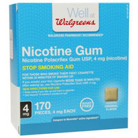Walgreens Nicotine Gum