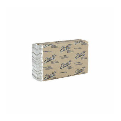 Kimberly-Clark X 13.15'' White SCOTT  C-Fold Towels (200 Towels Per Pack)