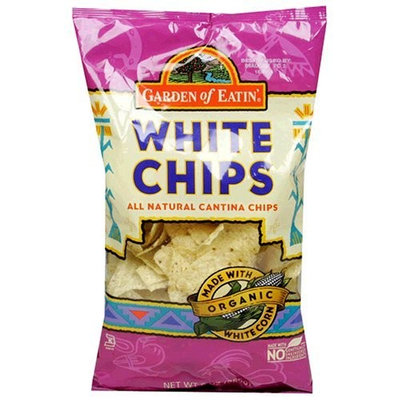 Garden of Eatin' Tortilla Chips, White Corn, 8.1 Ounce (Pack of 12)