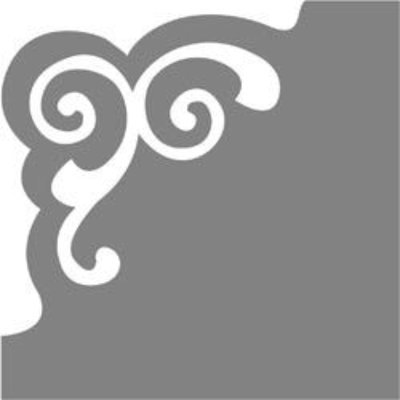 Fiskars CLP-5487 Corner Lever Punch - Scroll