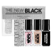 The New Black Typography 4-Piece Nail Polish Set