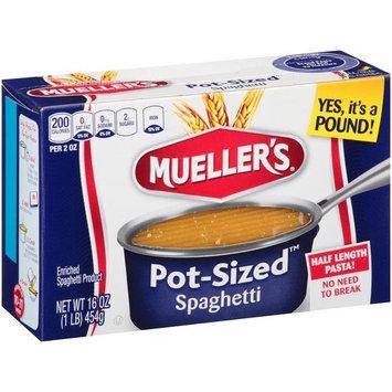 Mueller's Pot-Sized Spaghetti Pasta, 16 oz