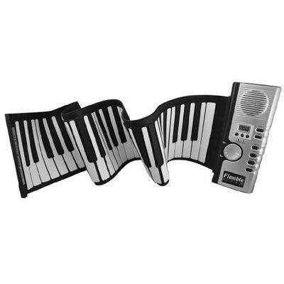 FlashingBoards Thicken 61 Keys Brand New - 61 Keys Portable Roll up Electronic Piano
