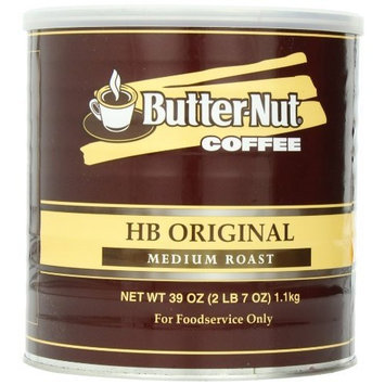 Butter Nut Butternut HB Original Medium Roast Ground Coffee, 39-Ounce Can