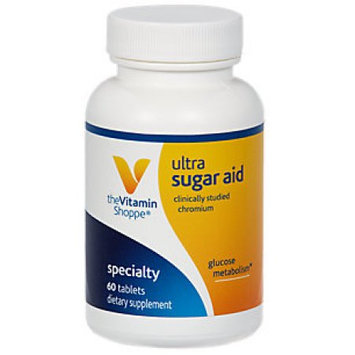 Vitamin Shoppe Ultra Sugar Aid With Chromax Plus Biotin