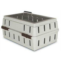 Petmate Cabin Kennel with Wire Top for Small Pets