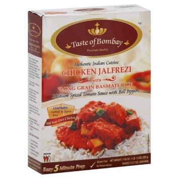 Taste of Bombay Chicken Jalfrezi, 17.64-Ounce (Pack of 9)