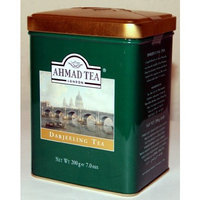 AHMAD TEA LONDON Ahmad Darjeeling Tea Tin Box Net Wt 200 g (7 Oz)