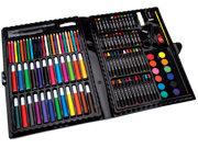 Artyfacts Portable Art Studio Deluxe Kit-120 Pieces