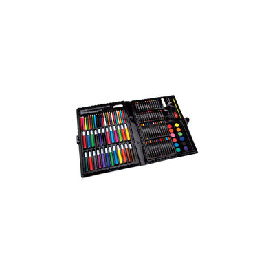 Artyfacts Portable Art Studio Deluxe Kit-120 Pieces