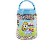 Perler Fun Fusion Bead Jar 18,000/Pkg-Multicolor