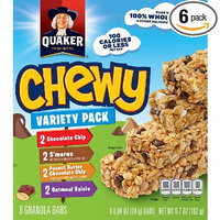 Quaker® Chewy Granola Bars Variety Pack
