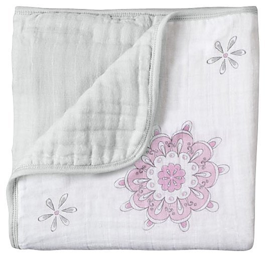 aden + anais Classic Dream Blanket (For The Birds - Medallion)