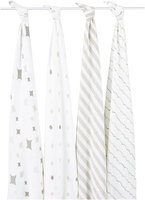 aden + anais Classic Muslin Swaddles (Shine On) - 4-pack