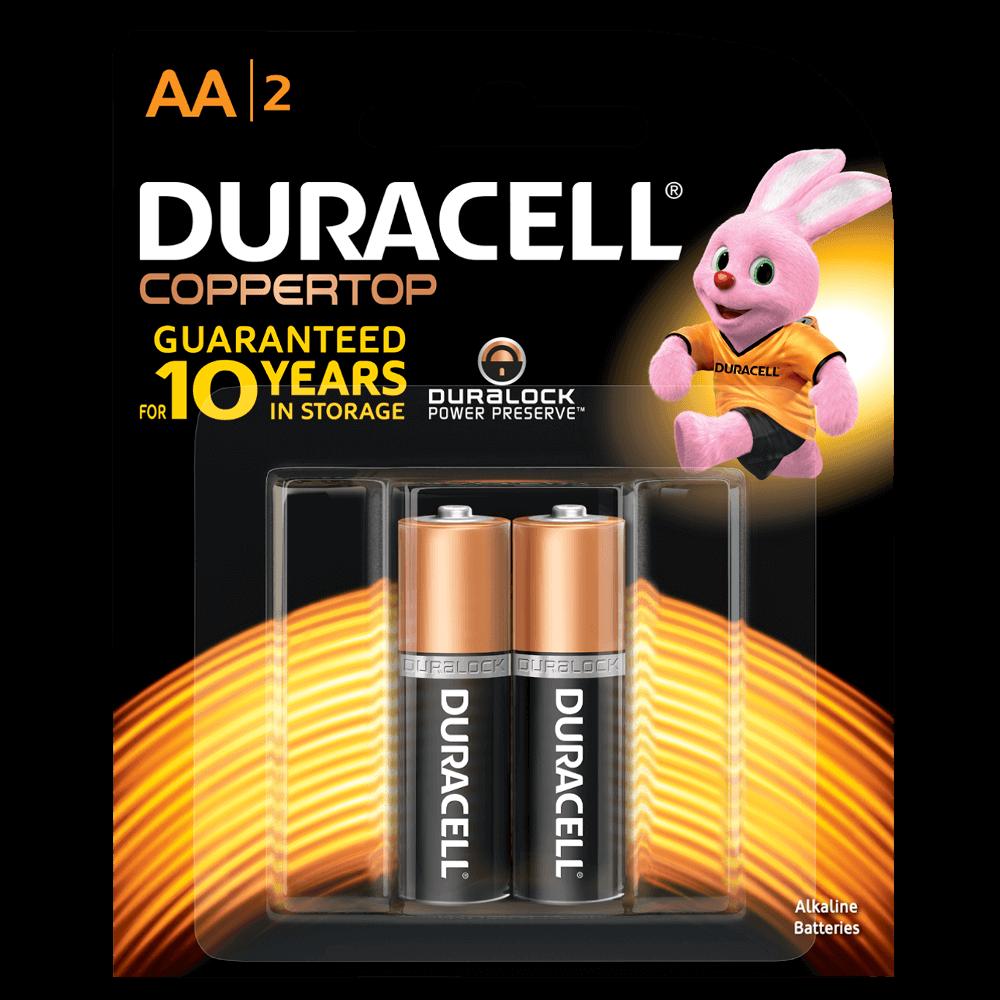 Duracell® Coppertop Alkaline AA Batteries
