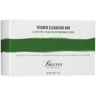 Baxter of California Vitamin Cleansing Bar, Italian Lime and Pomegranate, 7 oz