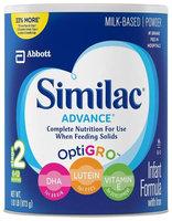 Similac Advance Stage 2 Baby Formula - Powder - 30.8 oz - 1 ct.