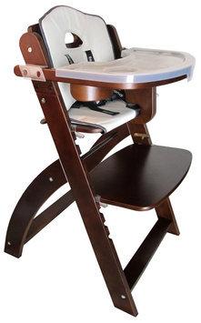 Abiie Beyond Junior Y High Chair - Mahogany/Chocolate