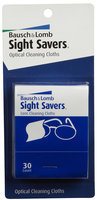 Bausch & Lomb Bausch and Lomb Sight Savers Optical Cleaning Cloths - 60 ct.