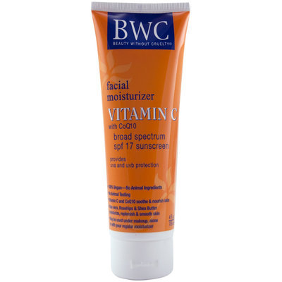 Beauty Without Cruelty Vitamin C Facial Lotion with CoQ10 SPF 17