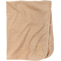 American Baby Company Organic Cotton Interlock Embroidery Blanket
