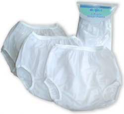 Dappi Waterproof Vinyl Diaper Pants - 1 ct.