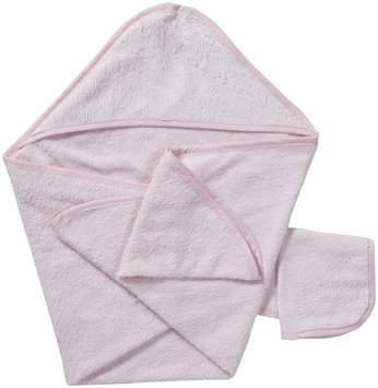 American Baby Company ABC Hooded Towel Set - Pink - 1 ct.
