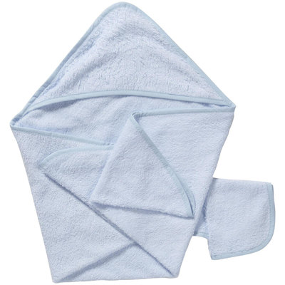 American Baby Company ABC Hooded Towel Set - Blue - 1 ct.