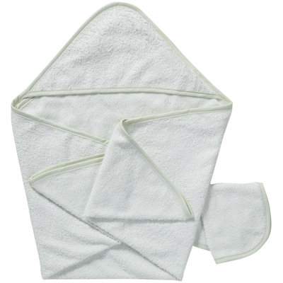 American Baby Company ABC Hooded Towel Set - Celery - 1 ct.