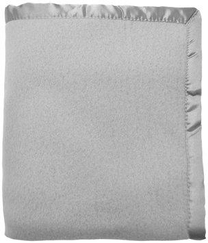 American Baby Company Nordic Fleece Crib Blanket- Gray - 1 ct.