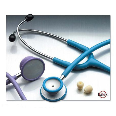 ADC ADSCOPE-Lite Highly Sensitive Light Weight Stethoscope, Adult, Navy, Each
