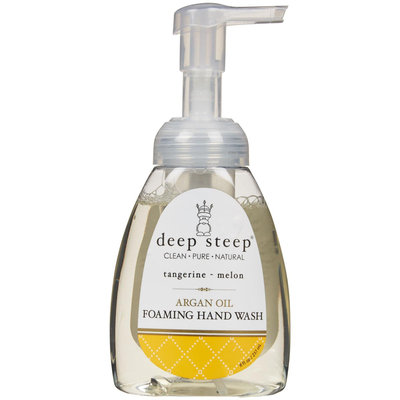 Deep Steep Argan Oil Foaming Hand Wash - Tangerine Melon