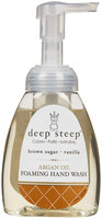 Deep Steep Argan Oil Foaming Hand Wash Brown Sugar Vanilla 8 fl oz