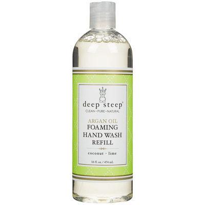 Deep Steep Argan Foaming Hand Wash Refill - Coconut Lime