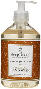 Deep Steep Argan Liquid Hand Wash - Brown Sugar Vanilla