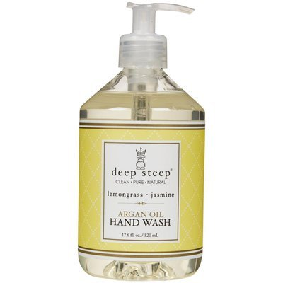 Deep Steep Argan Liquid Hand Wash - Lemongrass Jasmine