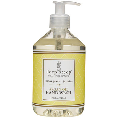 Deep Steep Argan Liquid Hand Wash - Lemongrass Jasmine