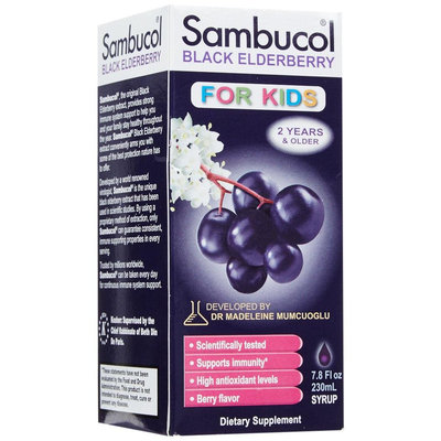 Sambucol - Black Elderberry For Kids Liquid - 7.8 oz.