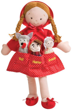 North American Bear Company Dolly Pockets Little Red Riding Hood
