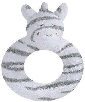 Angel Dear Ring Rattle (Zebra)