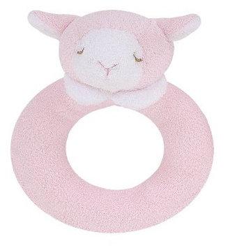 Angel Dear Ring Rattle, Pink Lamb - 1 ct.